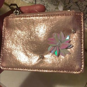 Accessories - 5 FOR $30! MIX & MATCH! Rose Gold Zipper Pouch!